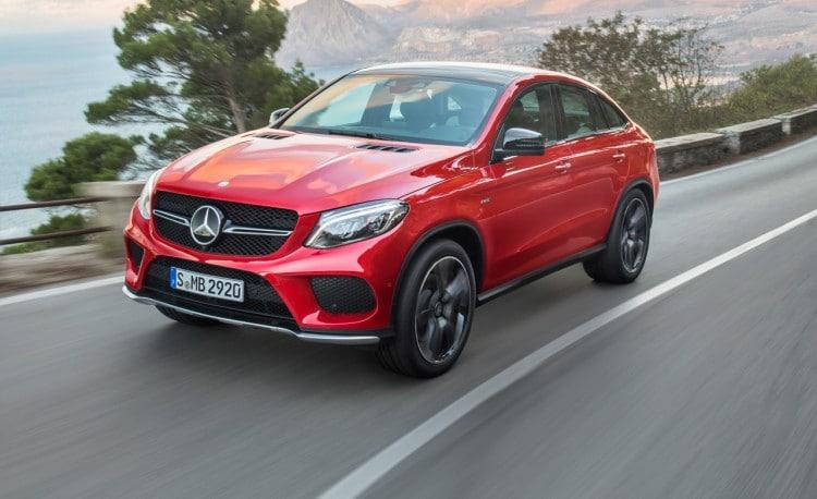 Nouvelle Mercedes GLE