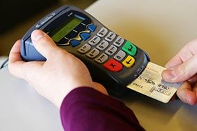 Les encaissements par carte bancaire