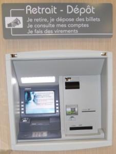automates de dépôt de billets