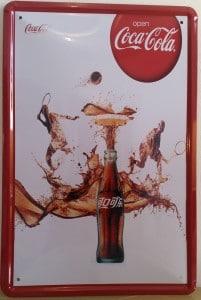 Plaque Coca Cola