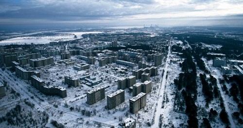 ville fantôme de Pripyat