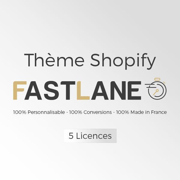 Thème fastline shopify