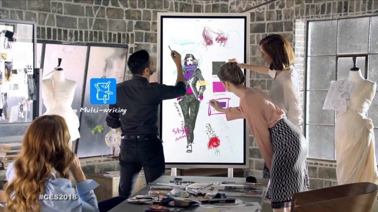 ecran interactif Samsung Flip