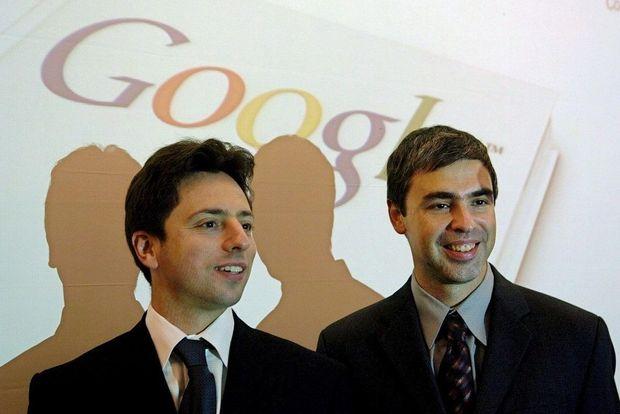 les fondateurs de Google