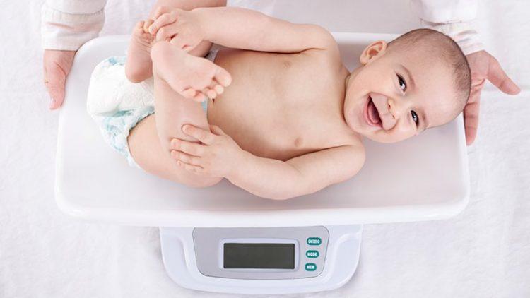 Le poids de votre bébé