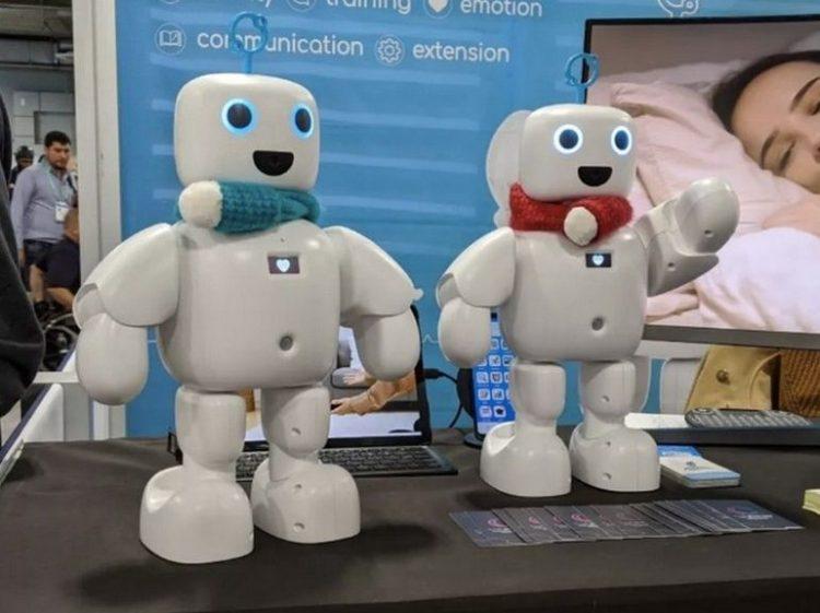 Des robots domestiques câlineux