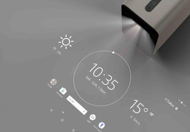 projecteurs à écran tactile